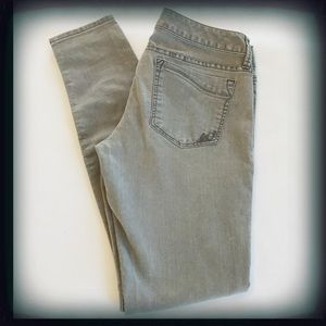 Express Gray Jean Legging/Skinny Size 4 EUC